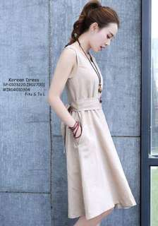 Korean dress fits S-L