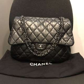 Chanel large shoulder bag