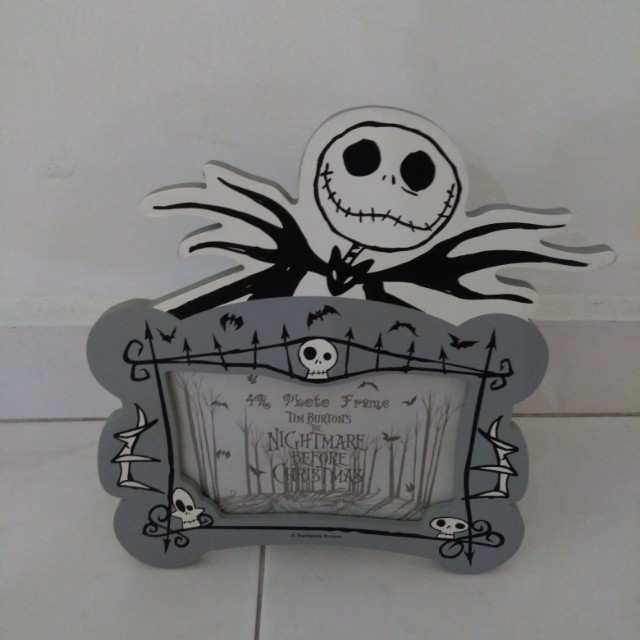 19l X 21h Cm The Nightmare Before Christmas Photo Frame Furniture