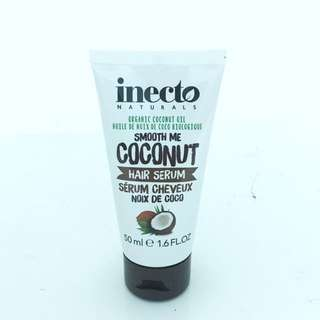 Inecto Naturals Coconut Hair Serum 50ml (2 qty left)