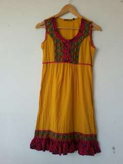 Sleeveless kurti india