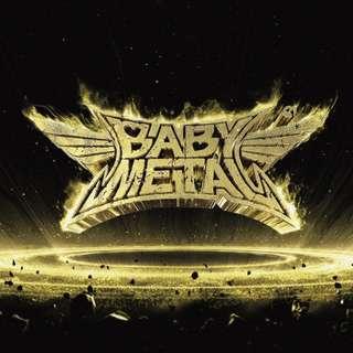 Coming MINT SEAL Babymetal RED Vinyl record jap metal