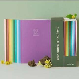INNISFREE Limited Edition 13 Months Diary