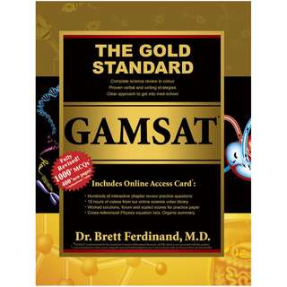 The Gold Standard GAMSAT Textbook