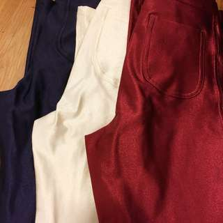 The Disco Pant American Apparel blue red pearl