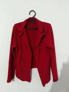 Topmanila Red Blazer