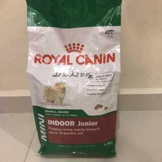 Royal Canin and Pronature dry puppy food