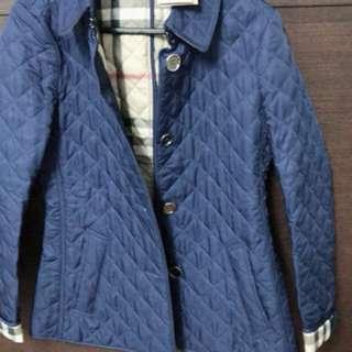 New burberry jacket blue size XS