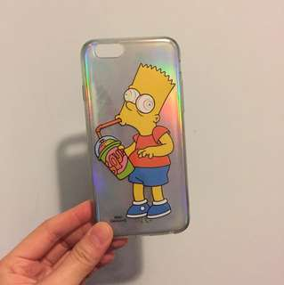 The simpsons 6/6s iphone case