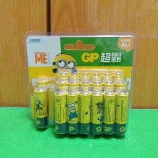 Minions 2A電池 (20粒)