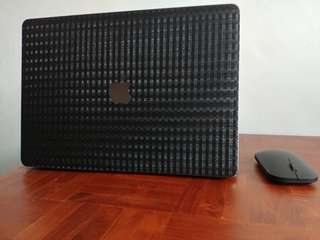 MacBook pro black strap skin