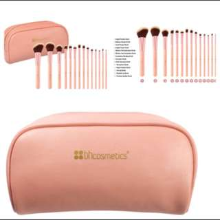 BH Chic 14 Brush Set With Cosmetic Case