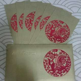 Exquisite Collectible: ANZ SIGNATURE PRIORITY BANKING ANG POW SET 6s