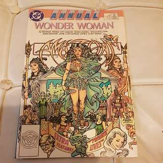 (A020) DC COMICS WONDER WOMAN (1988) #1