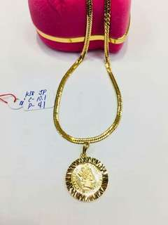 Authentic💯✔18k Japan real gold
