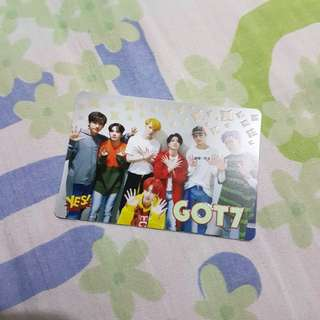 GOT7 Yescard熒光卡