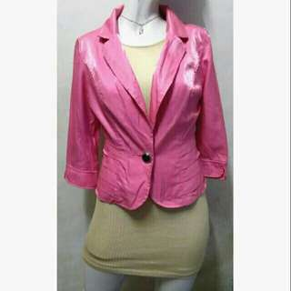 SALE preloved classy pink small blazer