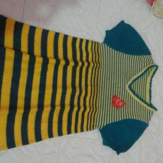 Dress Rajut Anak
