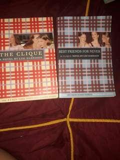 The Clique Books (2)