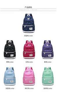 Korean bagpack 520 Only 5in1 size 16inchs