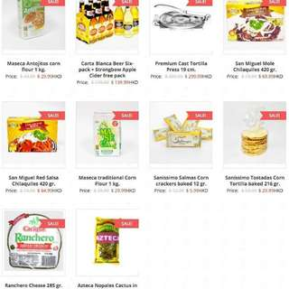 deals of the week in www.mexgrocer.hk