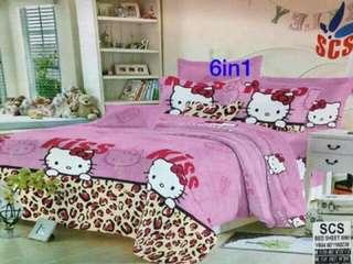 6-IN-1 Bedsheet Set