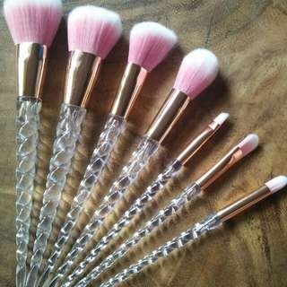 UNICORN BRUSH SET :)