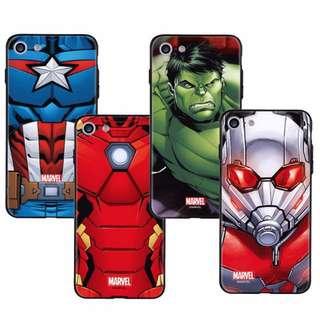 MARVEL 正貨 硬款 手機款 Iron Man 美國隊長 Hulk 蟻人 iPhone 7 8 Plus