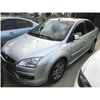 2005年 Ford 福特 Focus 佛卡司 2.0 佛卡司 雙安氣囊 舒適又大方