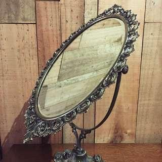法國五十年代老銅鏡