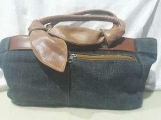 Denim Shoulder Bag for only PHP50