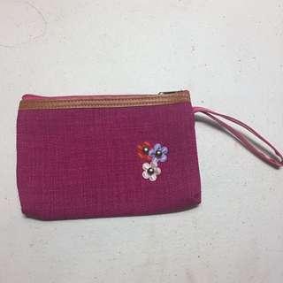 Purple Pouch or Makeup Bag
