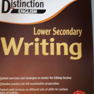 ENGLISH WRITING FOR LOWER SECONDARY SCHOOL BY M.C., 2013 MOE APPROVED EDITION