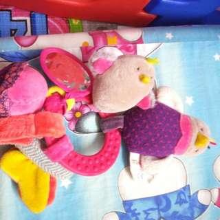 Soft Toys moulim rattle sound n vibrate