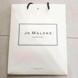 Jo Malone 紙袋 提袋 名牌紙袋 精品提袋