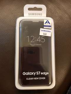 Samsung Galaxy S7 Edge Clear View Cover *NEW*
