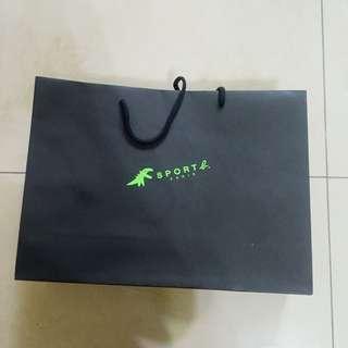 Sport b. 紙袋 提袋 名牌紙袋 精品提袋