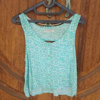 Floral Top Pull&Bear