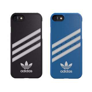 Adidas 手機殼 正品 iPhone 7 8 Plus Phone Case 硬殼 3間設計