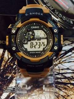 Gshock watch with can