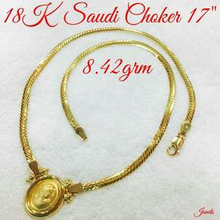 Authentic 💯✔real 18k gold