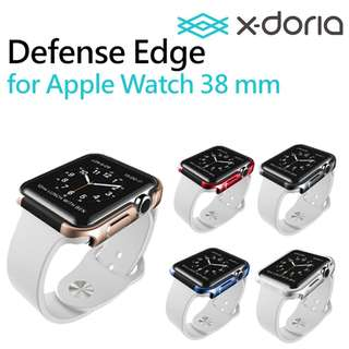 X-doria Defense Edge 金屬 Apple Watch 錶殼 Series 1 2 3 38mm