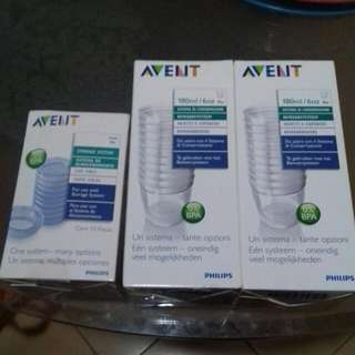NEW Avent Storage System Container