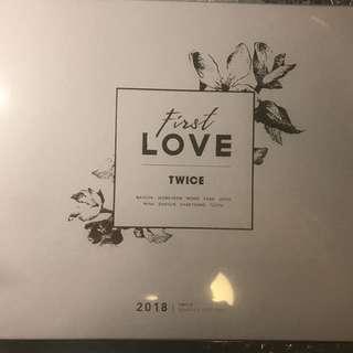 First love twice 2018 season greetings