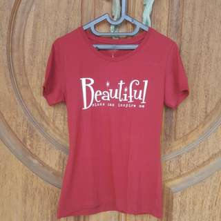 Beautiful mind can inspire me T-shirt Colorbox