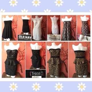 medium - semi large dresses