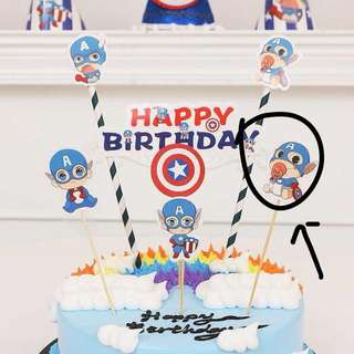Captain America Assorted Party Supplies