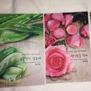 Masker nature republic ori korea