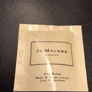 Jo Malone Red Roses Body & Hand Lotion 7ml