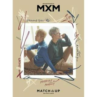 [PREORDER] MXM - Match Up (2nd Mini Album)